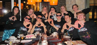 Penn High School DECA Team in December 2010